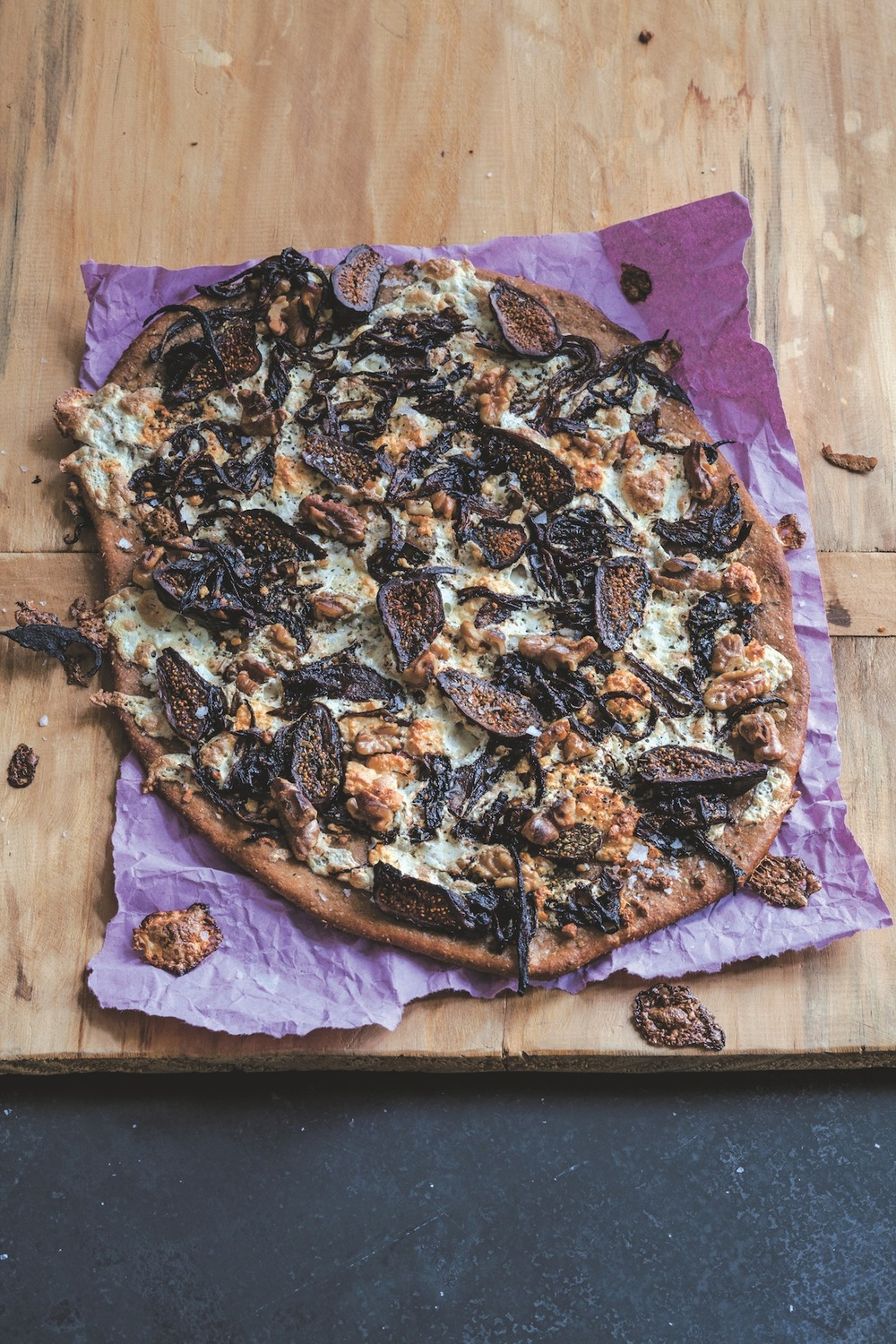Caramelized Red Onion and Fig Pizza (pg.173)