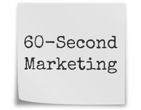 60-Second Marketing