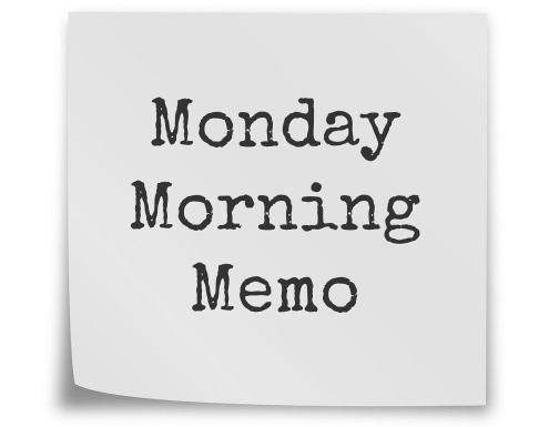 Click Image to Visit Monday Morning Memo