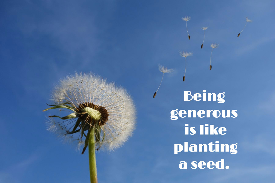 being-generous-is-like-planting-a-seed