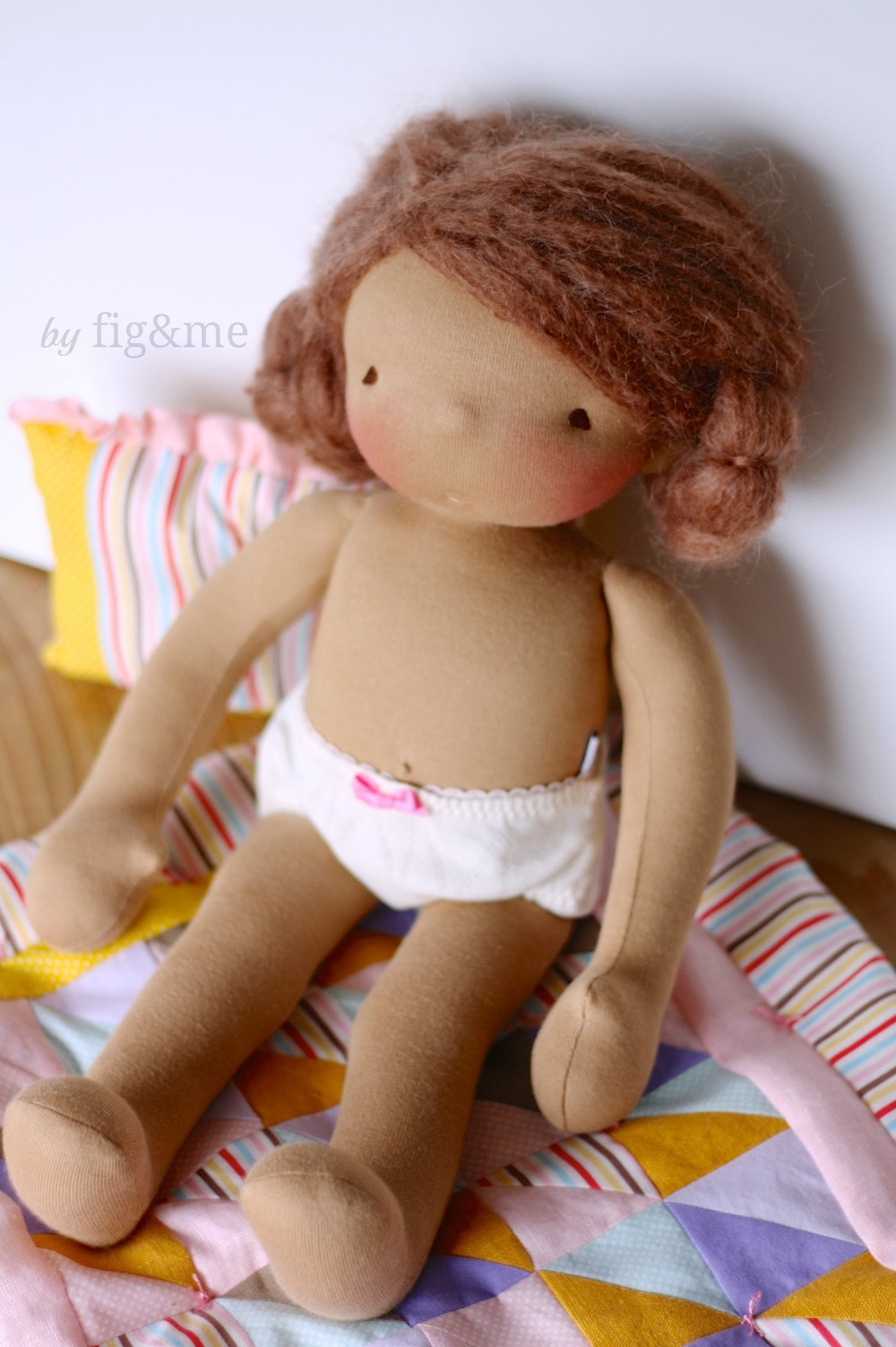 Carlotta in her sweet undies, by fig and me.