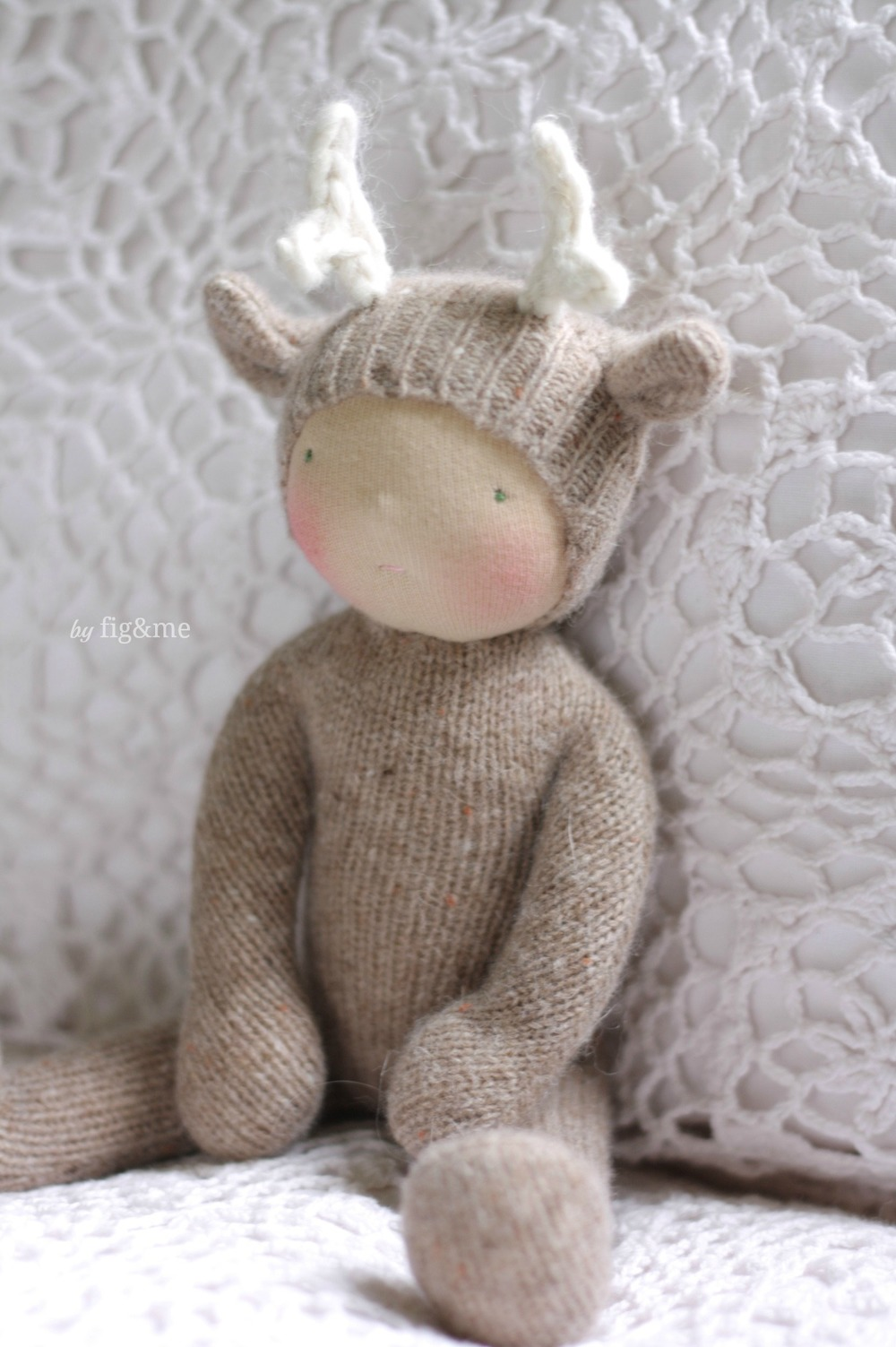 Miss Lara, a Wee Baby deer by Fig&me