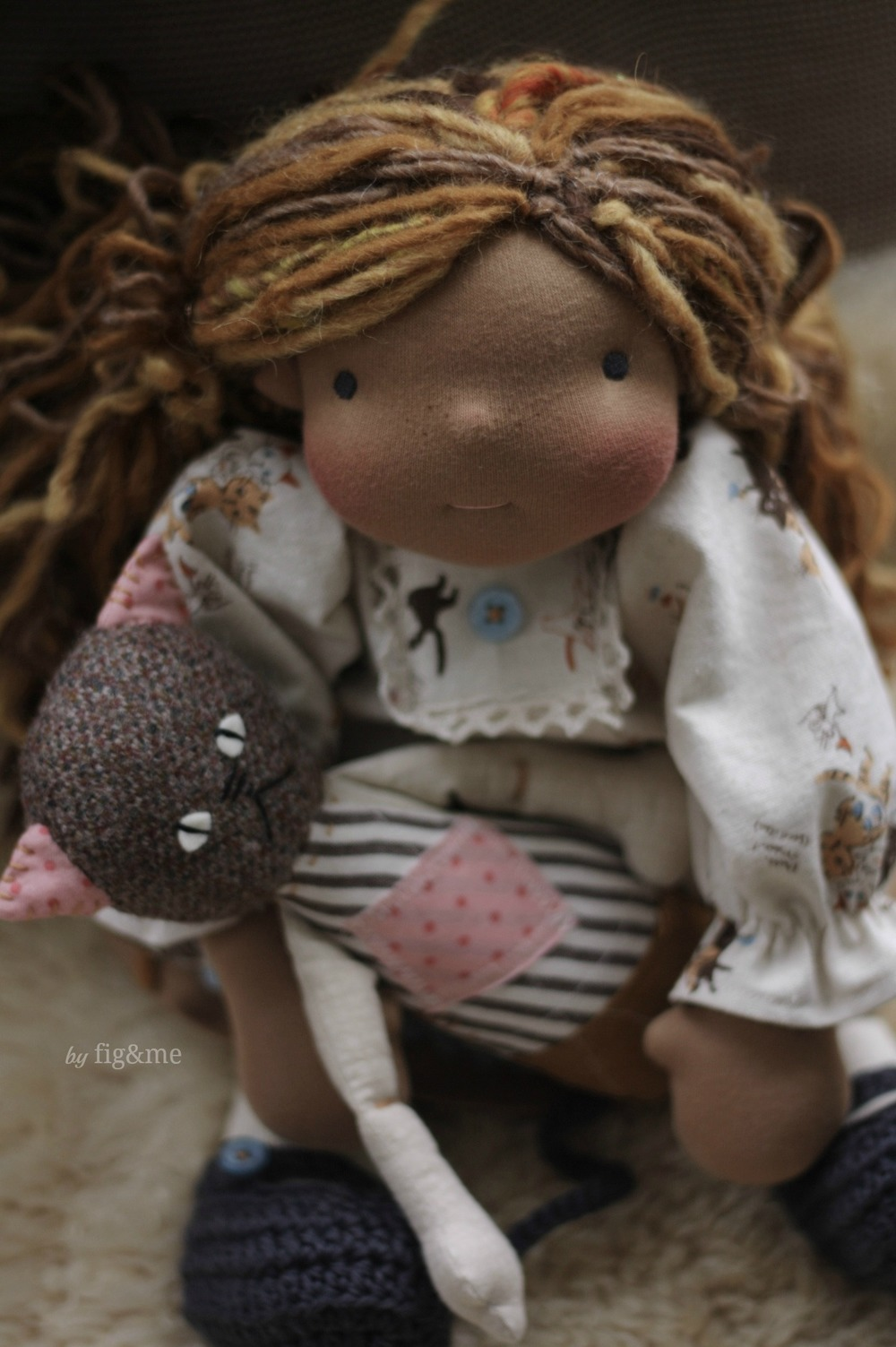 Lottie and her old best friend, by Fig&me.
