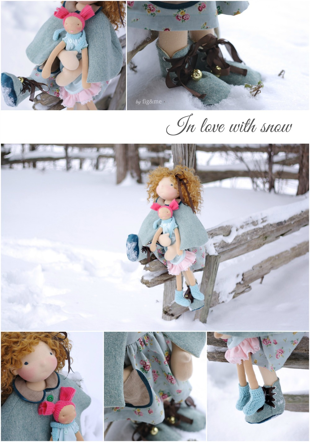 We love snow! by Fig&me.