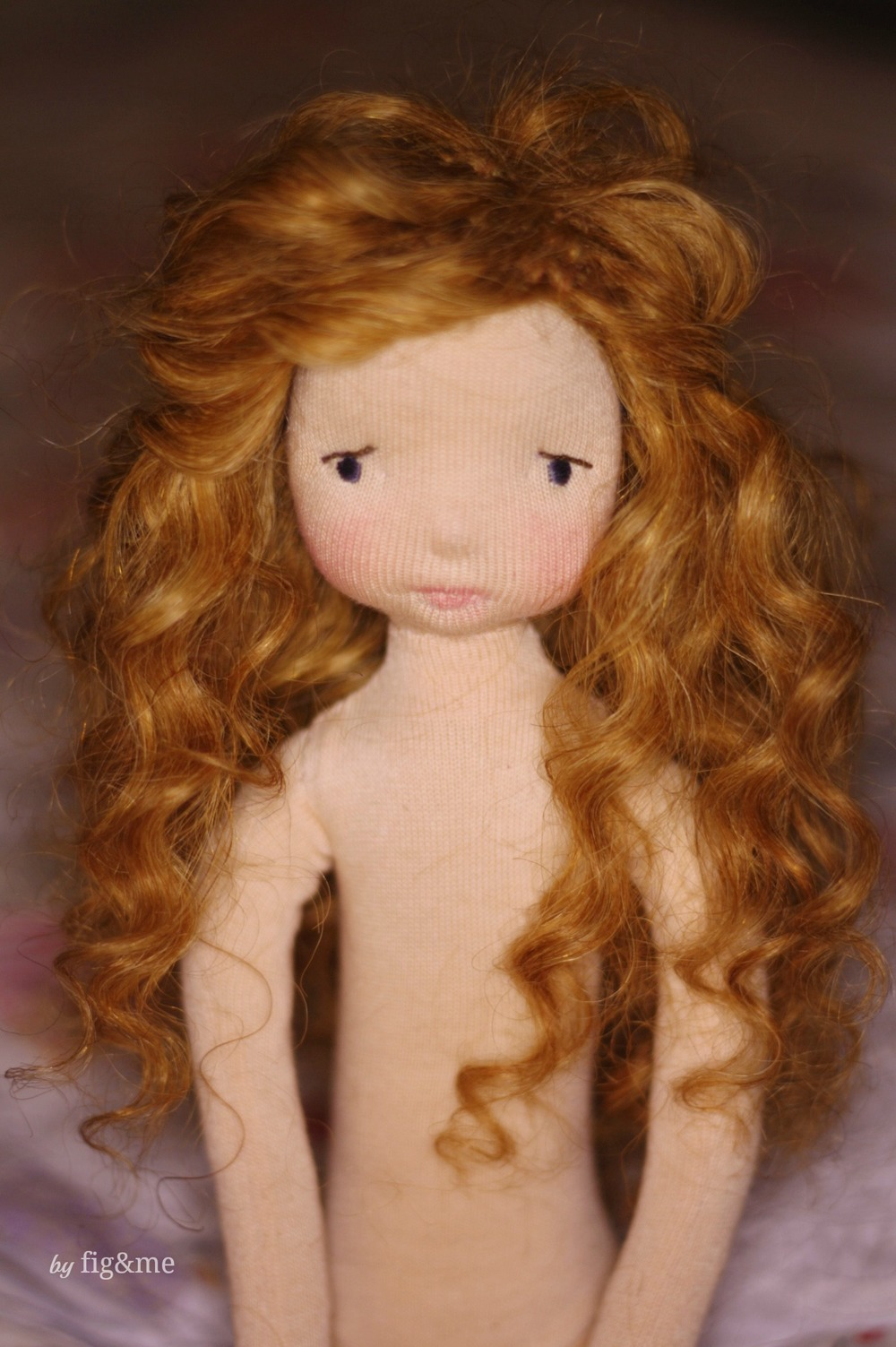 Little Melina, a Mannikin doll by Fig&me