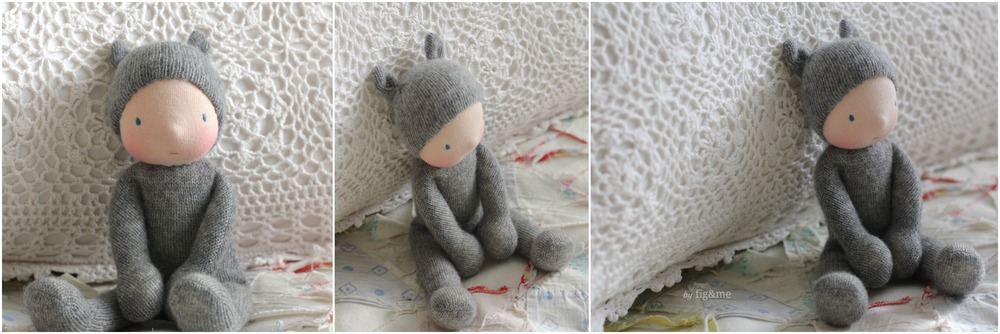 My Little Grey Baby, by Fig&me