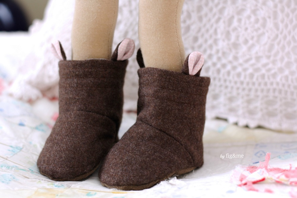 Little Bunny boots, by Fig&me