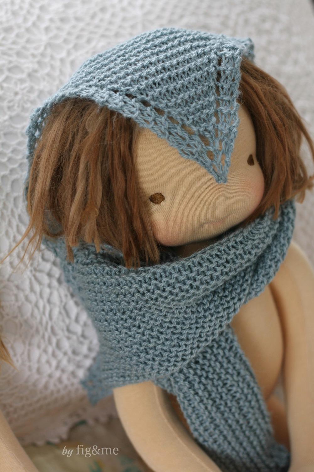 Baby Alpaca and silk shawl, by Fig&me.