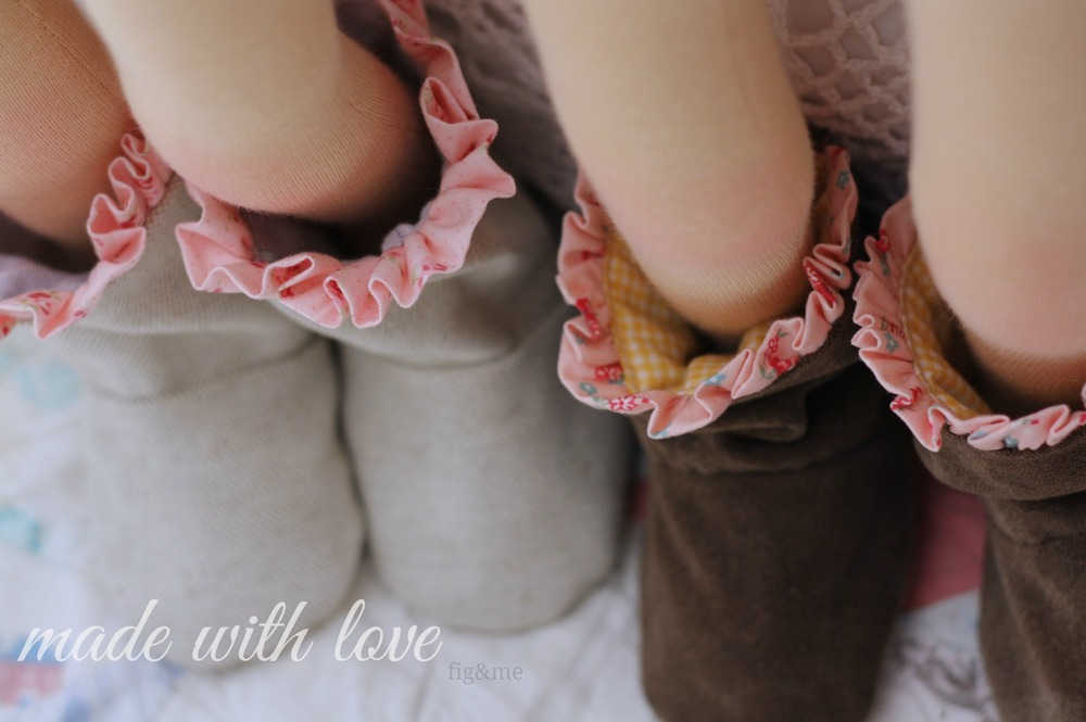 Dolly boots made with love, by Fig&me