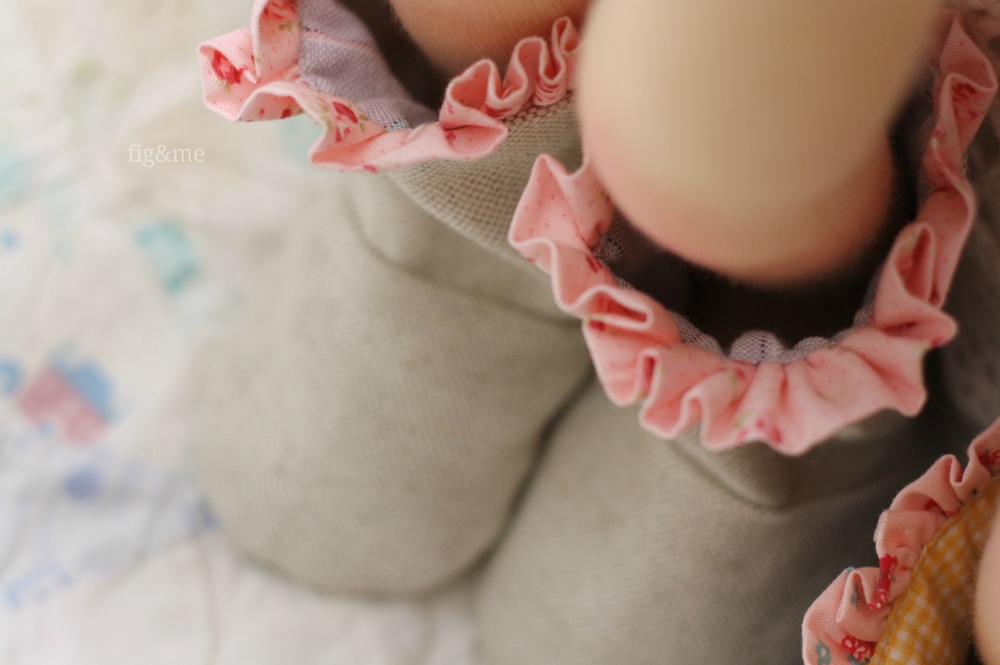 Pink dotted ruffles…by Fig&me