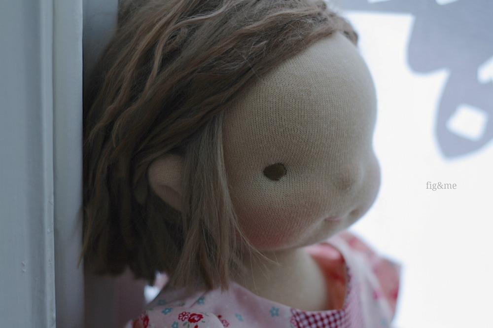 Little peeking ear, by Fig & me