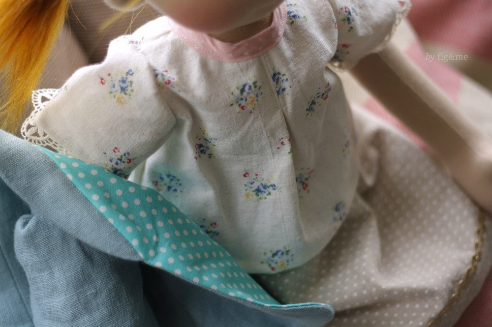 Linen doll clothes, by Fig&me
