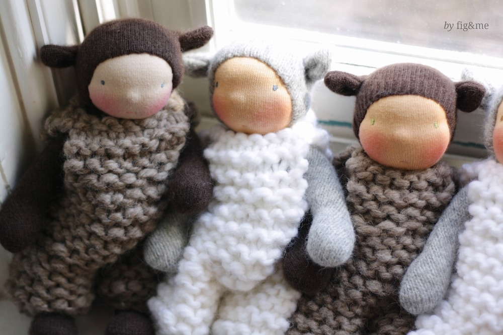 Three little Wee Babies, by Fig&me.
