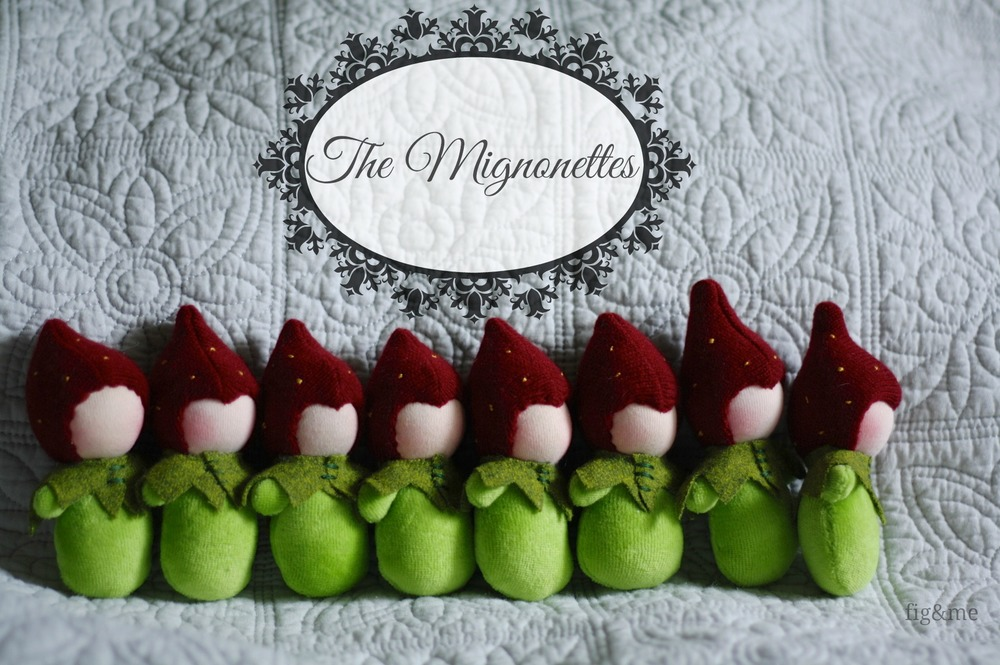 The Mignonettes, by Fig&me