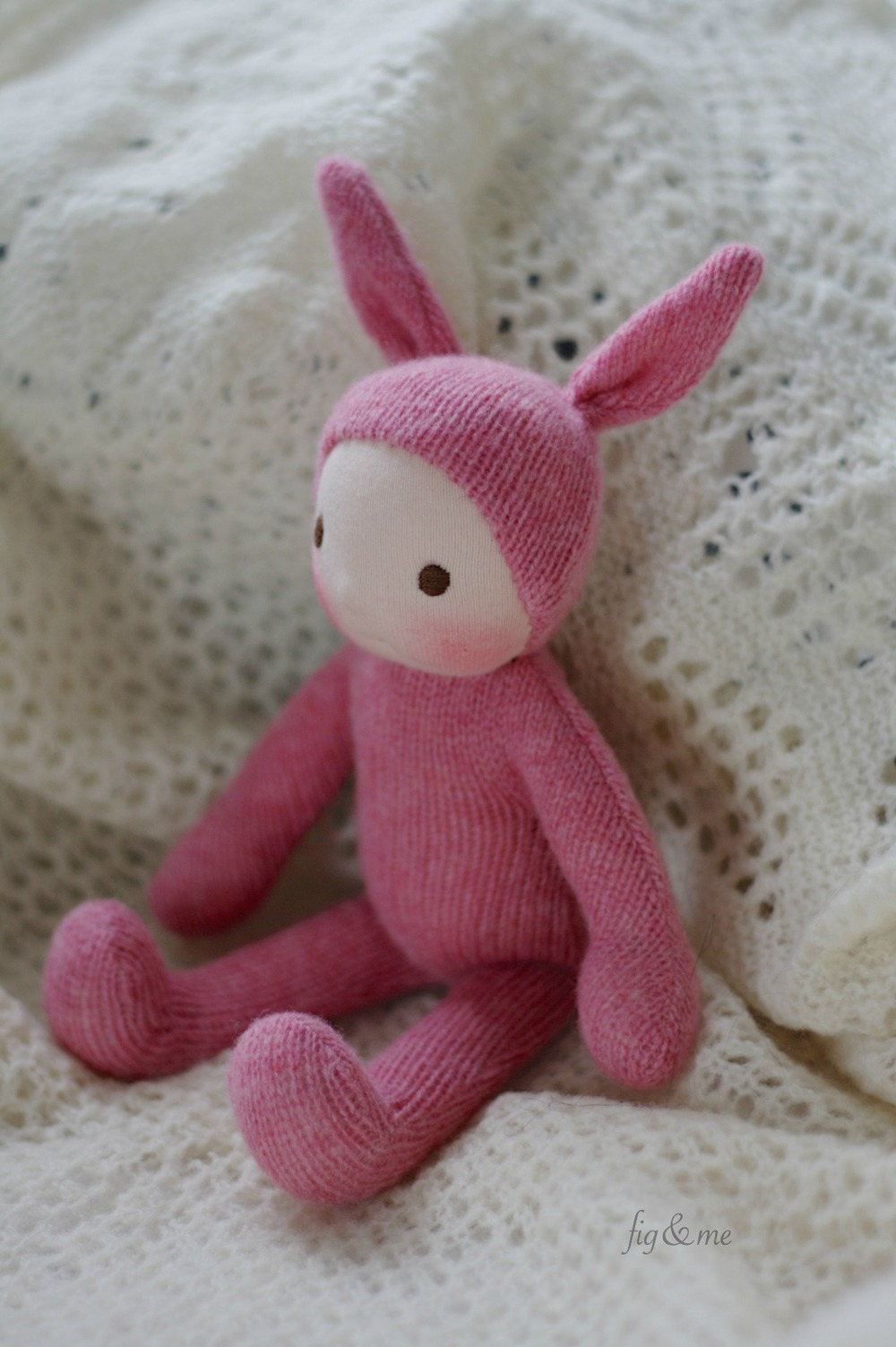 Wee Baby Bunny, by Fig and Me.