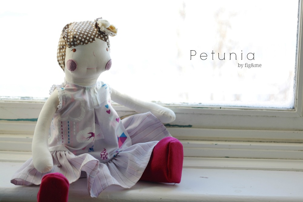 Little Petunia, by Fig and Me.