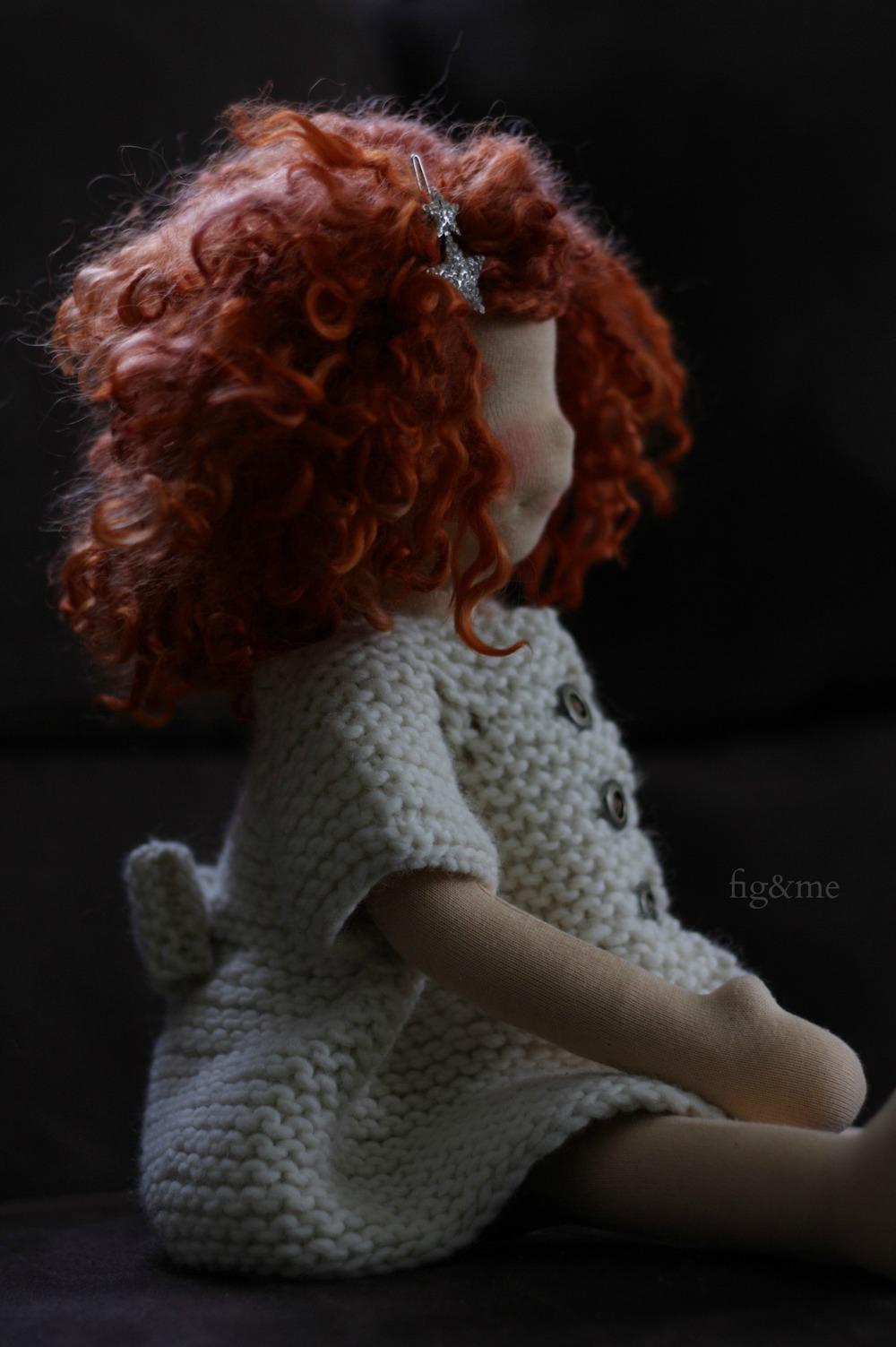 Ewa, a petite doll by Fig & me.