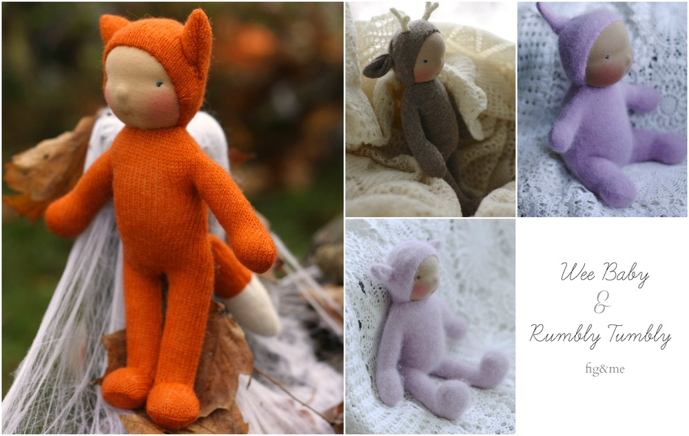 Wee Babies and Rumbly Tumblies by Fig and Me.