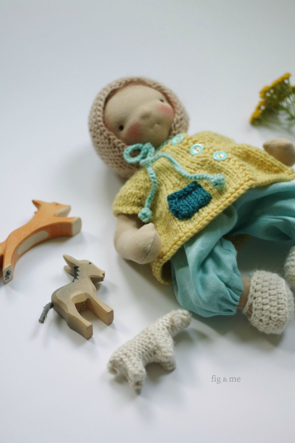 Baby Montserrat by Fig and me