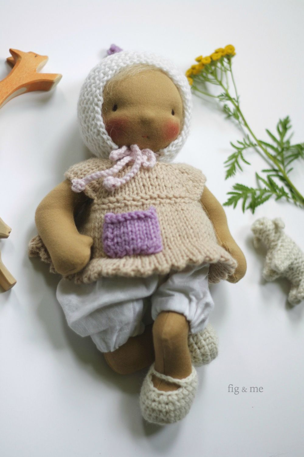 Baby Ethel by Fig and me