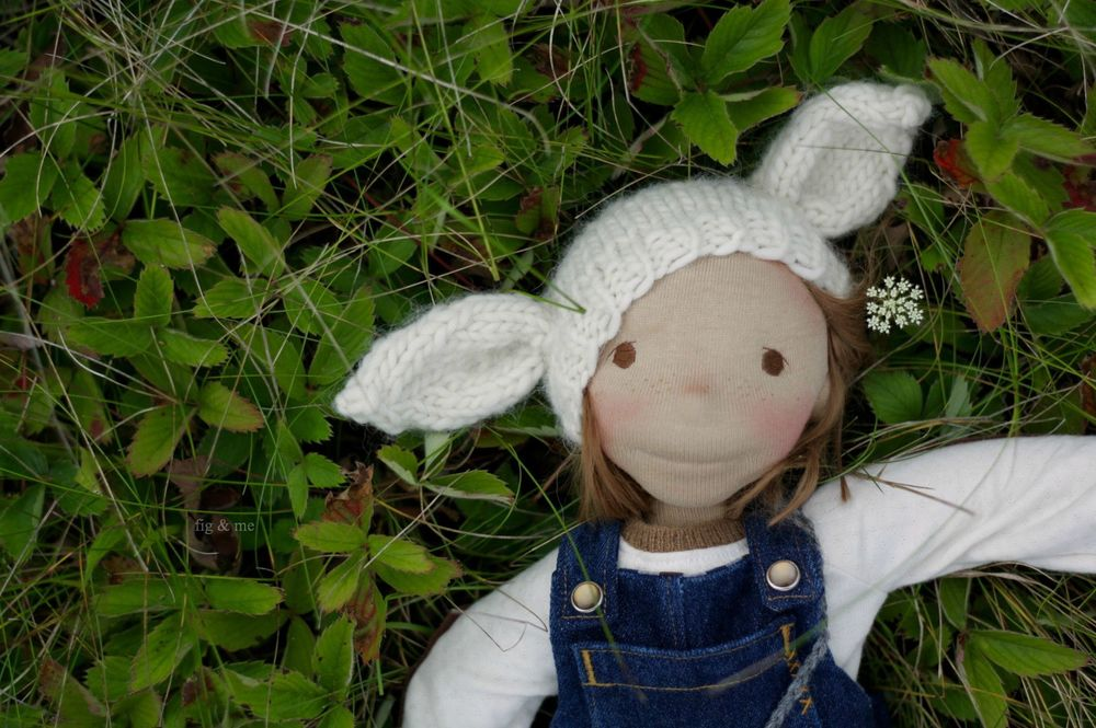 Illustrious Augusts, an 18 in natural handmade cloth doll, ready for play and adventure (via Fig and me).