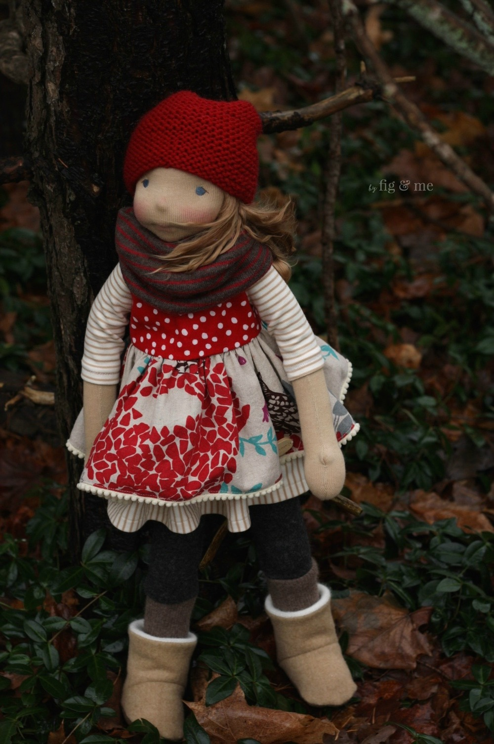 Sakasu, a natural doll by Fig and Me.