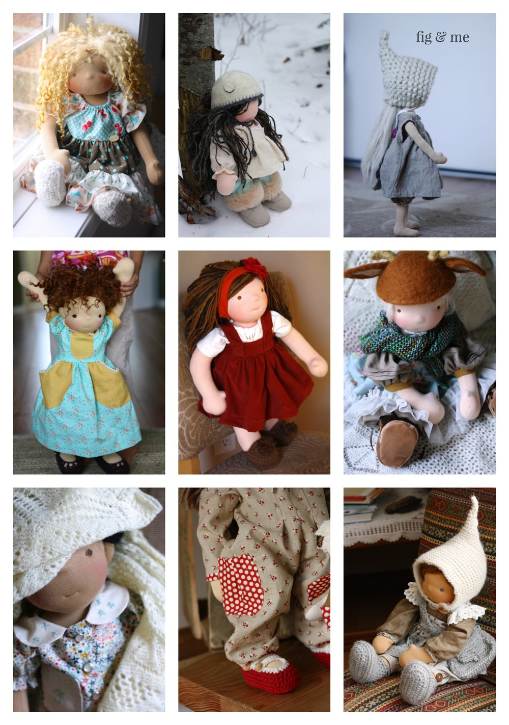 Doll clothing, patterns and tutorials. — fig & me