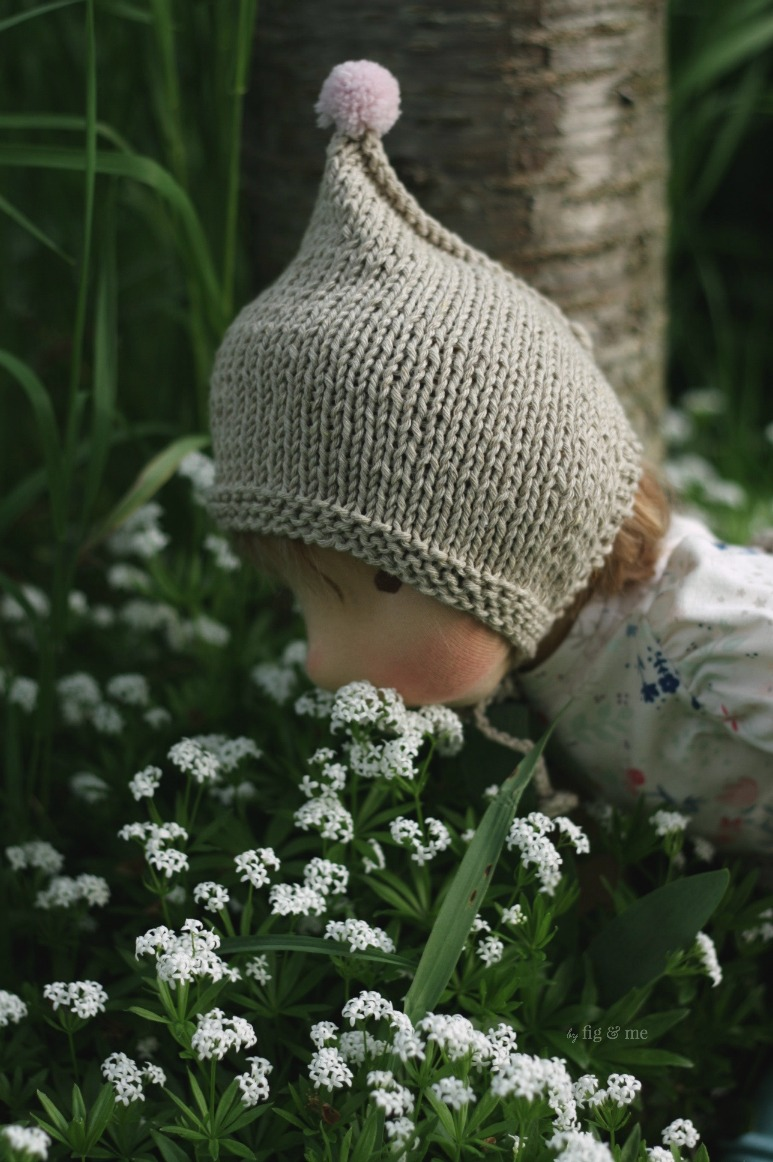 Don't forget to smell the flowers Little Saskia! By Fig and Me.
