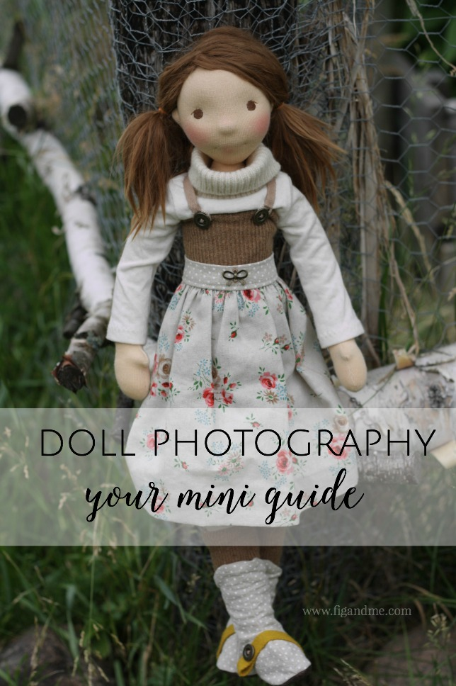Want to learn to take better doll photos or even understand how to use your camera? In this post I discuss some of the most basic elements when you are snapping photos of your dolls. Everything from lighting, use of props to creative set-up. via Fig and Me.