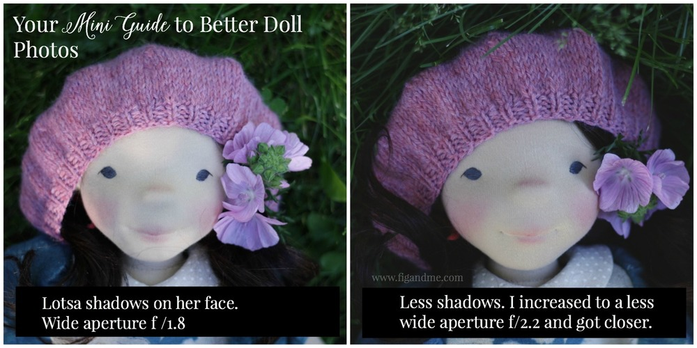 Your Mini Guide to Better Doll Photos. Discussing a wee bit the technical details, like how to handle the exposure of your doll photos. Nothing too crazy, just simple tips and guidance. Via Fig and Me.