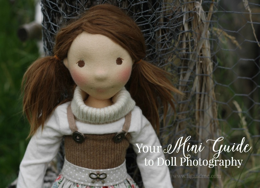 A quick Mini-Guide for Doll Photography. Covering just the basics for lightning, set up, creative props, storytelling, and camera specs. via Fig and Me.