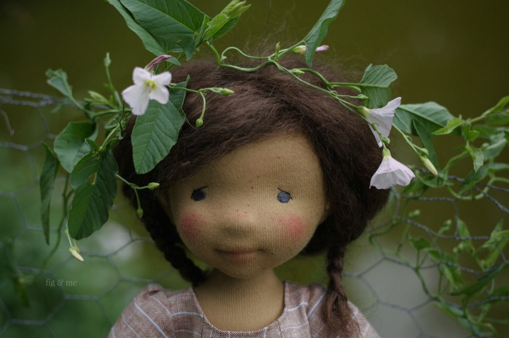Louella and the bind-weed. By Fig and Me.