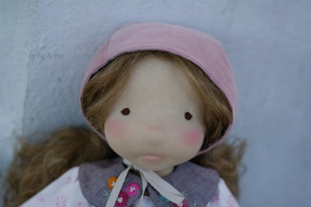 Little Hester, a natural doll by Fig and Me.