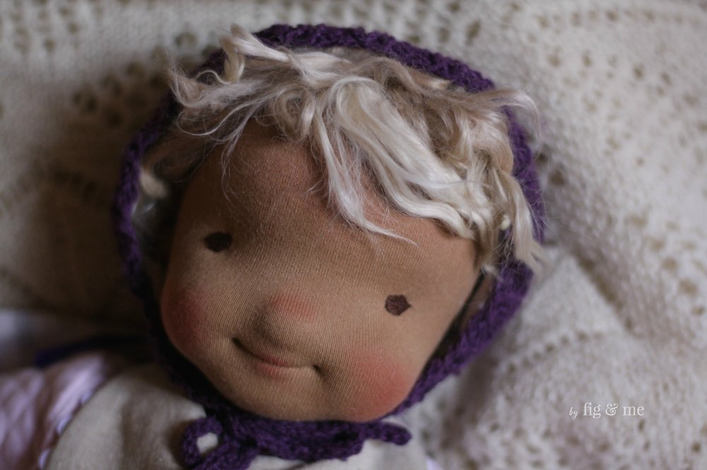 Ida May, a cloth doll by Fig and Me.