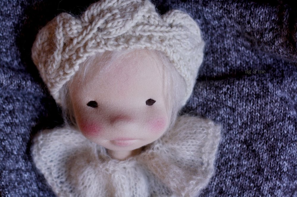 My first love, a wool child. By Fig and Me.