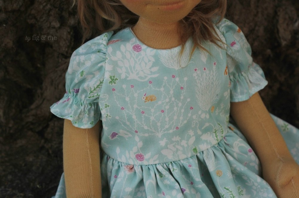 Ada wearing her Liberty of London Yoshi lawn dress. My new favourite fabric in the whole wide world. By Fig and Me.