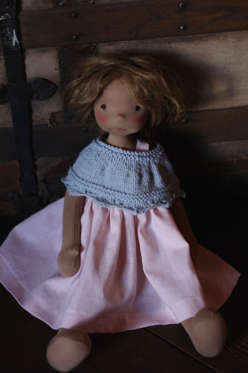Renata is a Petite Fig doll by Fig and Me.