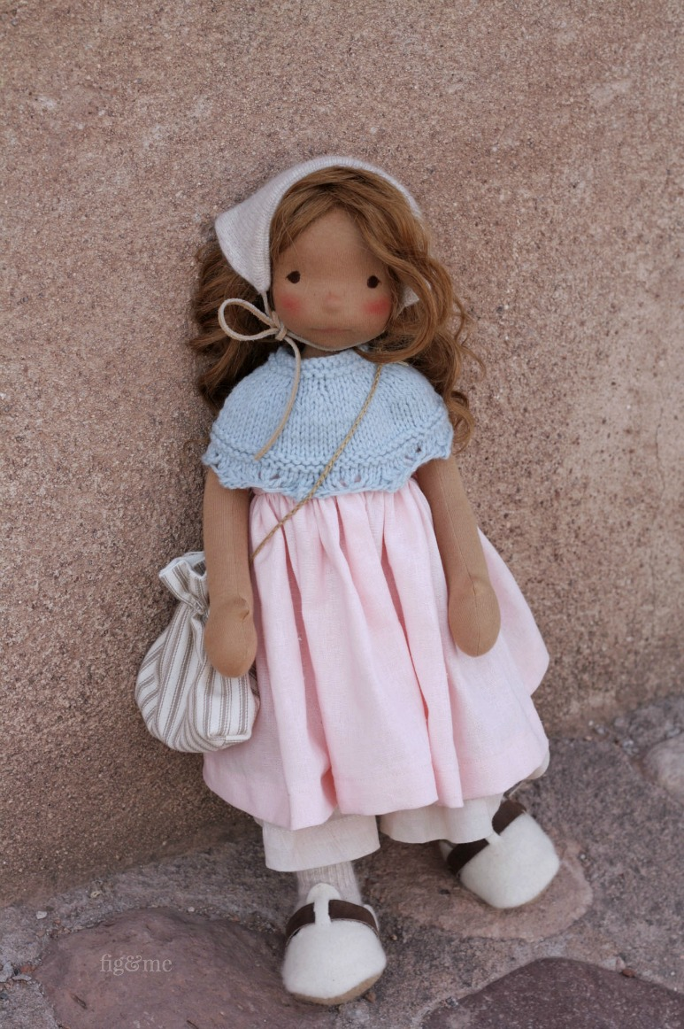 Renata, a Petite Fig doll by Fig and Me.