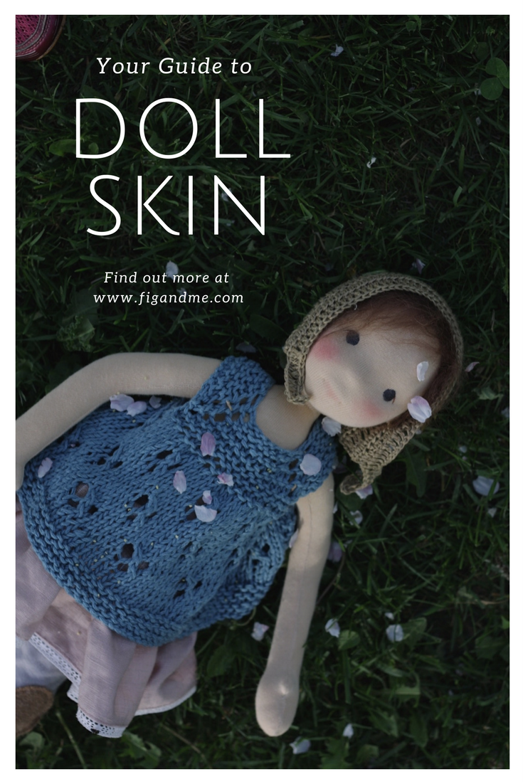 A fabric guide on most widely used brands for waldorf dollmaking. Via Fig and Me blog.