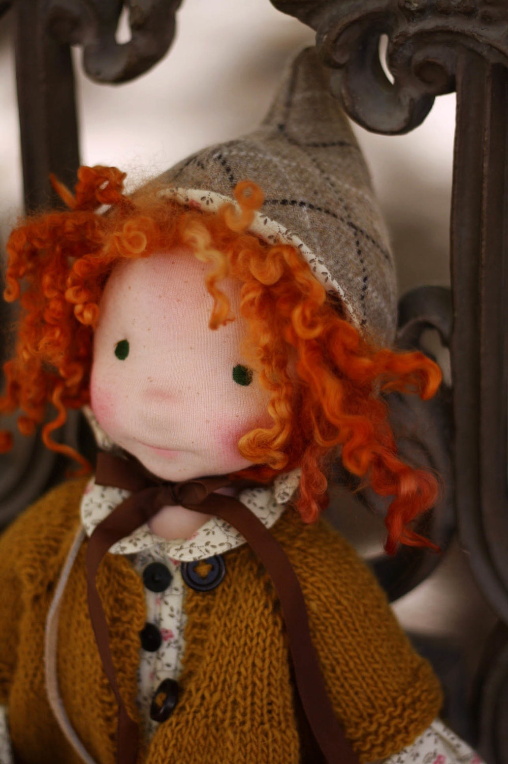 Our fall manifesto, via fig and me. (This is Hestia, a lovely red-headed cloth doll).