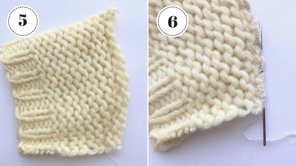 Simple tutorial for sewing a doll hat with repurposed knit fabric. via Fig and Me.