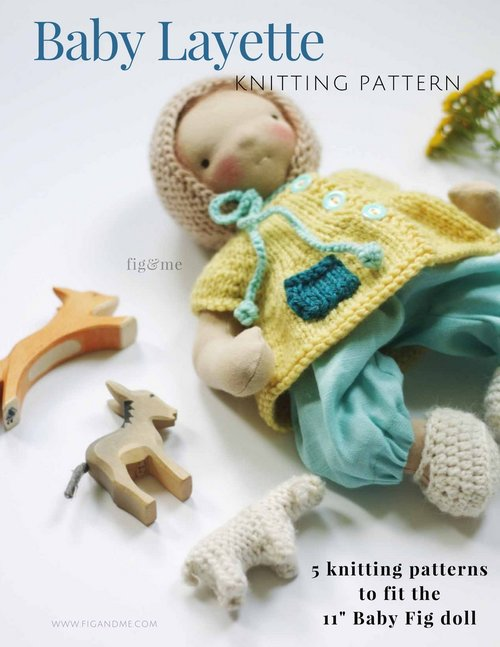 My Imogen: a free knitting pattern for your sweet doll. — fig & me