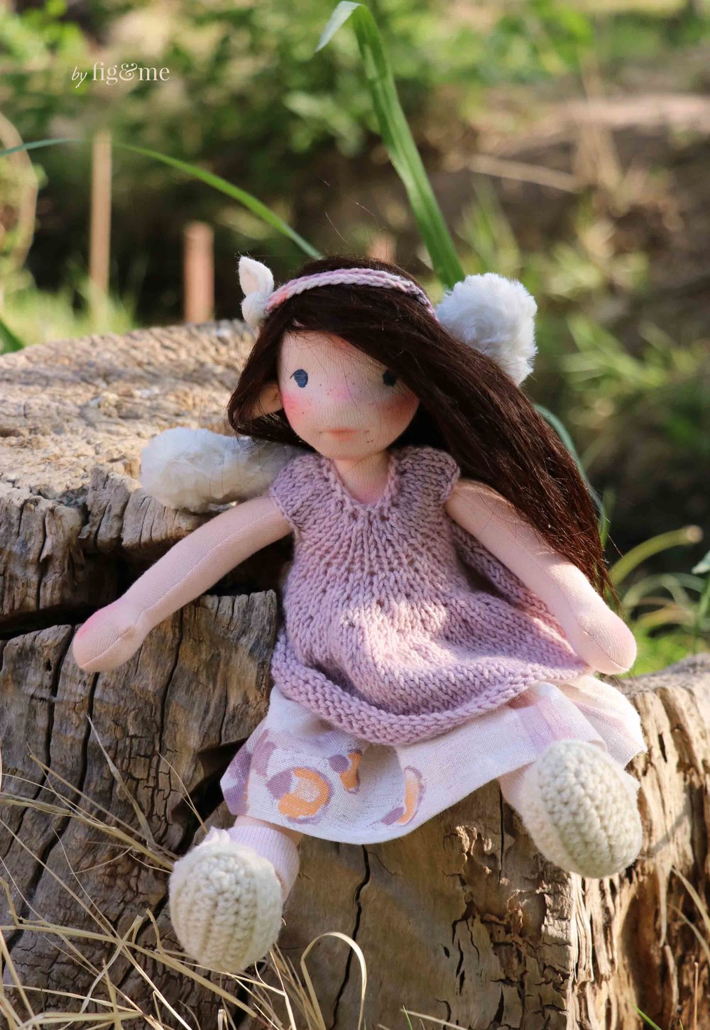 Annke, a Spring fairy by Fig and Me.