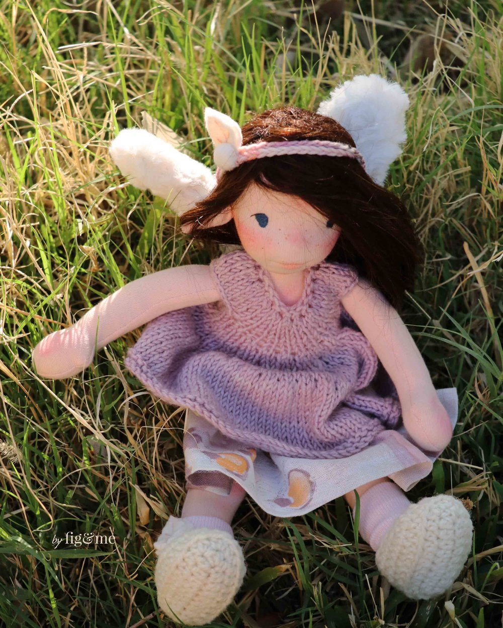Annke, a wee fairy doll by Fig and Me.