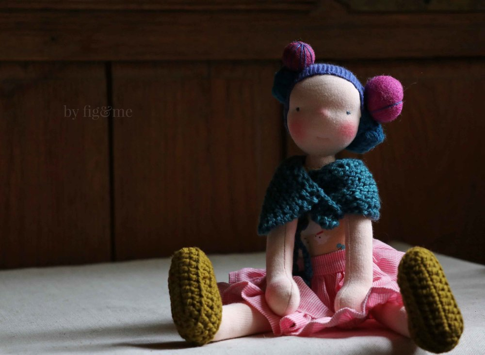Lollipop doll giveaway by Fig and Me.