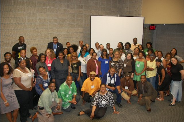 Original Blogging While Brown 2008 in Atlanta. First group photo.