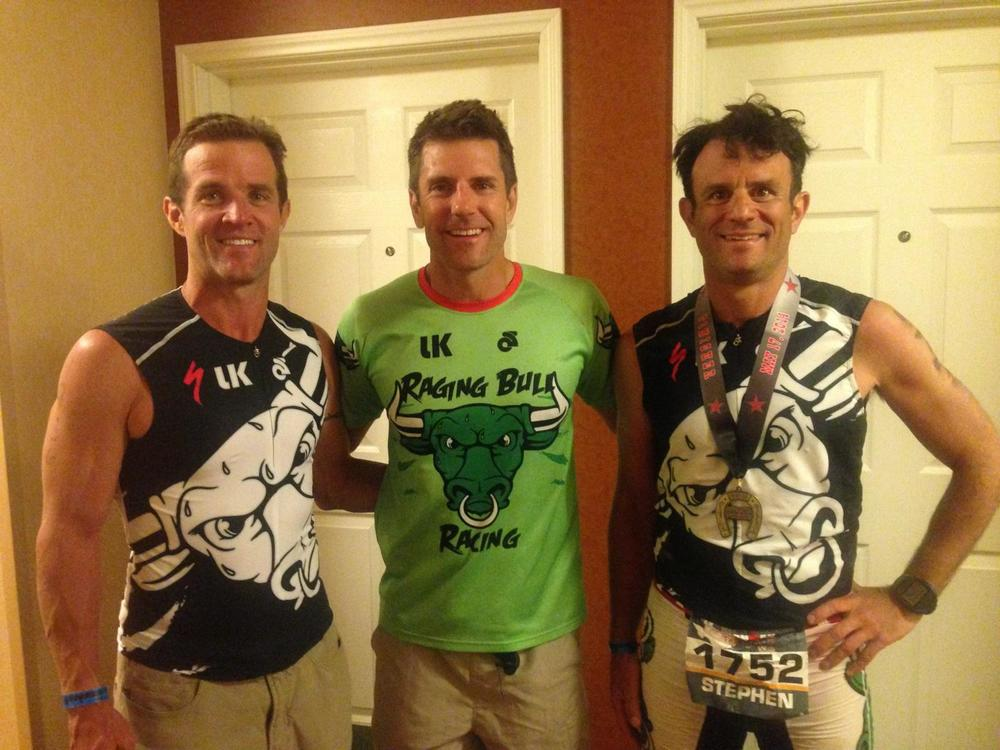 Mike Malfer, Luke Wilson and a psycho, delirious post race version of COZ.