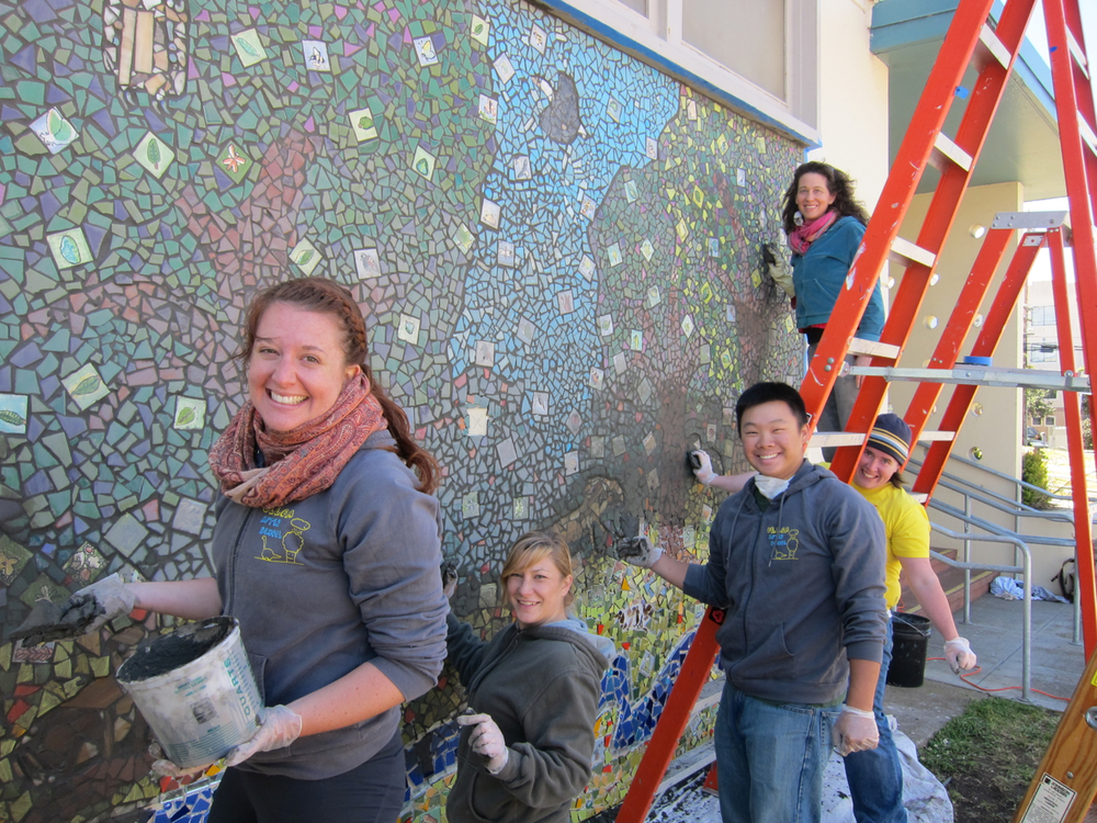 Grouting the Sunset Forest - Ulloa Elementary, San Francisco
