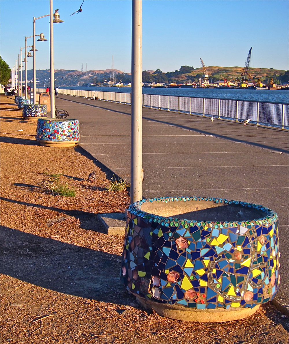 Waterfront Planters - Vallejo, CA