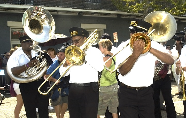 Treme Brass Band of New Orleans